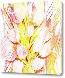 Постер Весенние тюльпаны