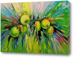 Постер Сочные яблоки