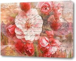 Постер Цветение деревьев