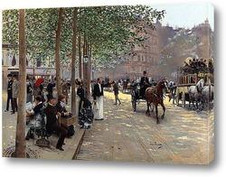 Картина Улица в Париже
