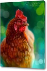 Картина Курица