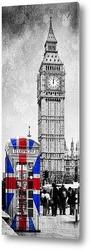 Постер Биг-Бен в Лондоне