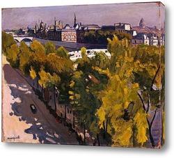 Набережная Лувра и Новый мост