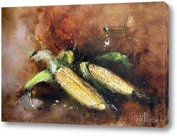 Картина Вечерняя кукуруза