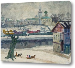 Картина Псков