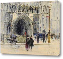 Картина Лондон: Здание суда