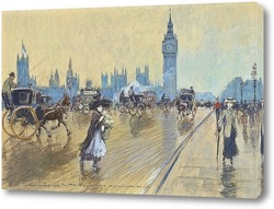 Постер Вестминстерский мост