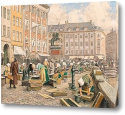 Постер Рыбный рынок