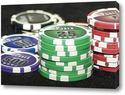 Постер покер