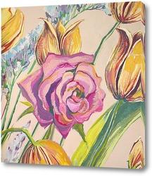 Картина Чайная роза