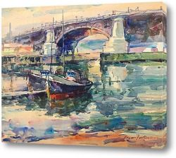 Постер Мост Баллард