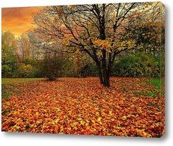 Постер Опавшие листья