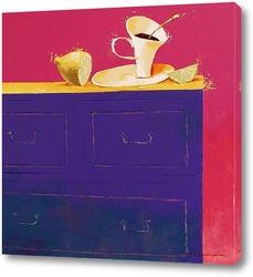 Картина Чай с лимоном