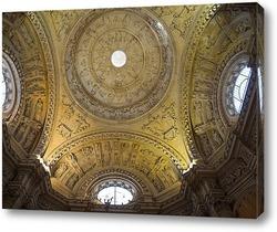 Постер Своды кафедрального  собора