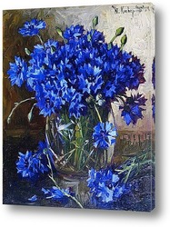 Картина Букет васильков