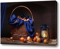 Постер Натюрморт с луком
