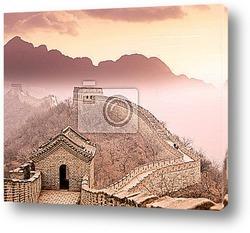 Постер Великая китайская стена