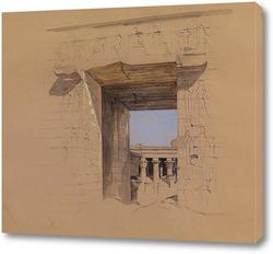 Постер Храм Эдфу: дверь Пилона