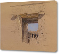 Картина Храм Эдфу: дверь Пилона