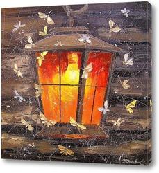 Картина Ночные бабочки