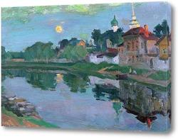 Картина Около Санкт-Петербурга