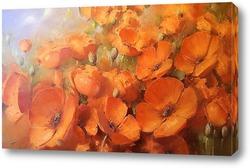 Картина Оранжеые маки