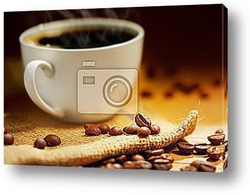 dark coffee and silver background