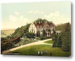 Постер Альтенштайн замок, Тюрингия, Германия. 1890-1900 гг