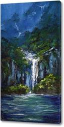 Постер Водопады