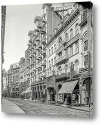 Постер Дом Адамса и театр Кейта, 1906