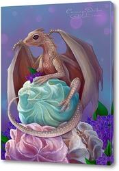 Картина Дракончик и зефир