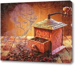 Картина Ретро кофемолка