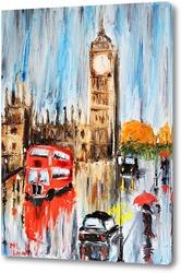 Картина Осенний Лондон