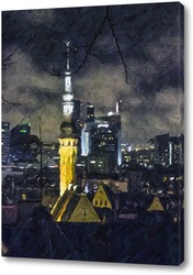 Картина Ночной Таллин 2