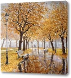 Картина Московская осень