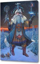 Картина Тол бабай /Дед мороз(удмуртский эпос)