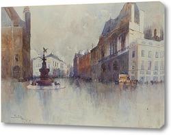 Картина Площадь Пикадилли