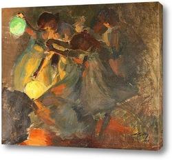Постер Ночные танцы
