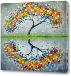 Картина Семейное дерево счастья