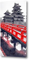 Постер Замок Мацумото