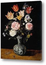 Постер Ваза с цветами