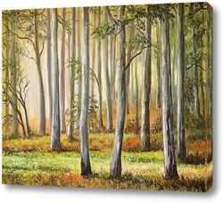 Картина Лесной мотив