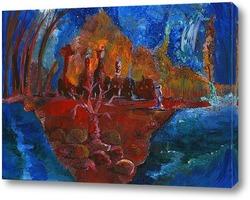 Постер Марсианка и Красное дерево