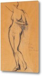 Картина Обнаженная, 1914