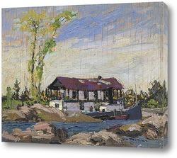 Картина Плавучий дом - Дог-поинт, 1914
