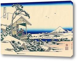 Картина Снежное утро на реке Коисикава