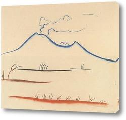 Картина Вулкан