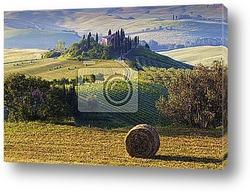 Тоскана, пейзаж, Италия