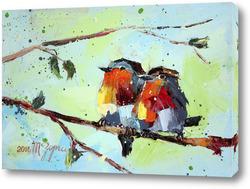 Картина Райские птички