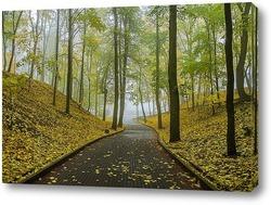 Постер Осенний парк